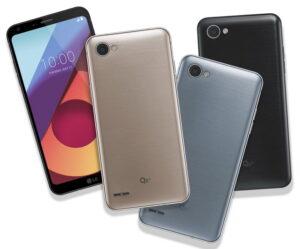 Новая бюджетная модель на российских рынках LG Q6a